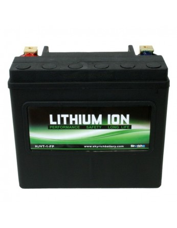 Μπαταρία μοτοσυκλετών SKYRICH Τεχνολογίας Λιθίου LFP-HJVT-1, 12V - 525A