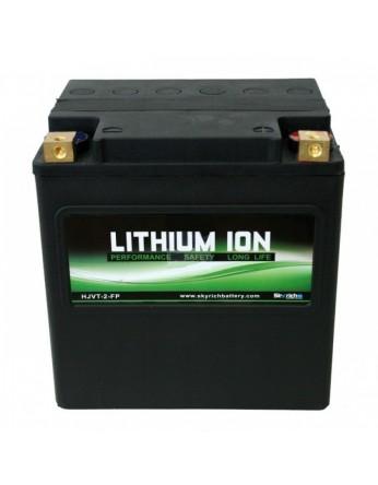 Μπαταρία μοτοσυκλετών SKYRICH Τεχνολογίας Λιθίου LFP-HJVT-2, 12V - 750A