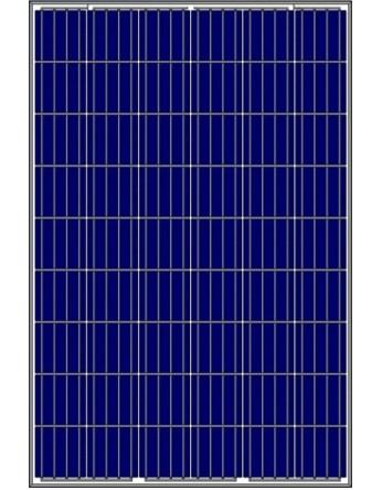 ΦωτοβολταΙκό πάνελ Amerisolar 265Wp 60 κυψελών πολυκρυσταλλικό