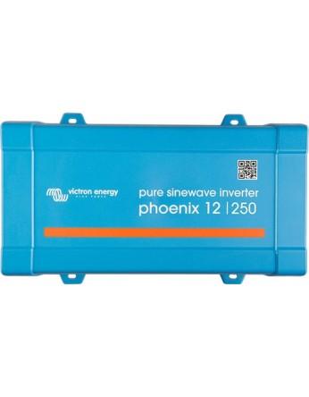 Μετατροπέας - inverter DC-AC καθαρού ημιτόνου Victron Phoenix 12/250 VA