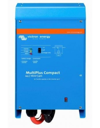 Μετατροπέας - inverter με φορτιστή DC-AC καθαρού ημιτόνου Victron Multiplus 24/1600/40-16