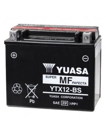 Μπαταρία μοτοσυκλετών YUASA TAIWAN Maintenance Free YTX12-BS - 12V 10.5 (20HR)Ah - 180 CCA(EN) εκκίνησης