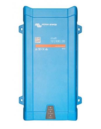 Μετατροπέας - inverter με φορτιστή DC-AC καθαρού ημιτόνου Victron Multi 24/500/10-16