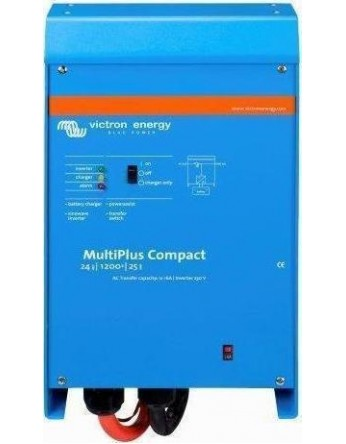 Μετατροπέας - inverter με φορτιστή DC-AC καθαρού ημιτόνου Victron MultiPlus C 24/1200/25-16