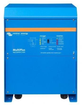 Μετατροπέας - inverter με φορτιστή DC-AC καθαρού ημιτόνου Victron Multiplus 24/5000/120-100