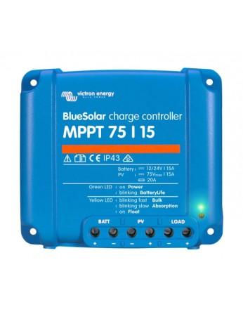 Ρυθμιστής φόρτισης φωτοβολταϊκών Victron BlueSolar MPPT 75/15