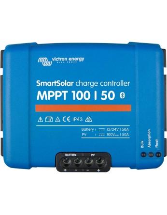 Ρυθμιστής φόρτισης φωτοβολταϊκών Victron SmartSolar MPPT 100/50