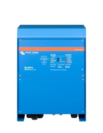 Μετατροπέας - inverter με φορτιστή DC-AC καθαρού ημιτόνου Victron Quattro 48/10000/140-100/100