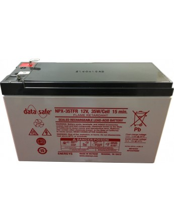 Μπαταρία ENERSYS DATASAFE NPX35-12TFR High rated VRLA - AGM τεχνολογίας - 12V 35 watt / κελί