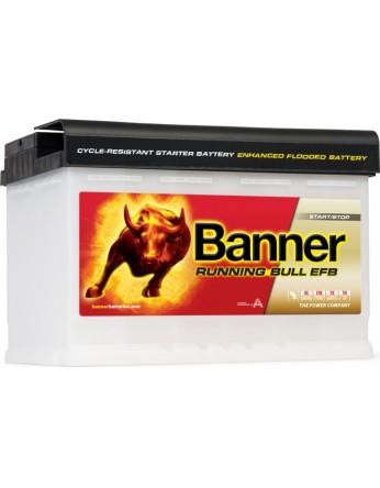 Μπαταρία τεχνολογίας EFB Banner Running Bull 57011 12V 70Ah (C20) - 660CCA εκκίνησης