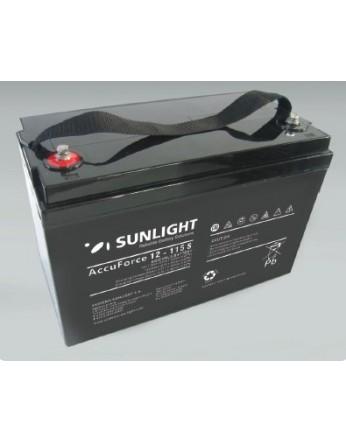 Μπαταρία Sunlight Accuforce Solar 12-115S VRLA - AGM τεχνολογίας 12V - 116Ah (C100)