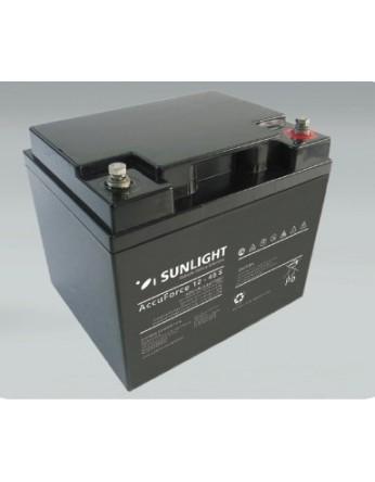 Μπαταρία Sunlight Accuforce Solar 12-45S VRLA - AGM τεχνολογίας 12V - 44Ah (C100)