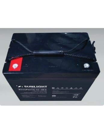 Μπαταρία Sunlight Accuforce Solar 12-80S VRLA - AGM τεχνολογίας 12V - 81Ah (C100)