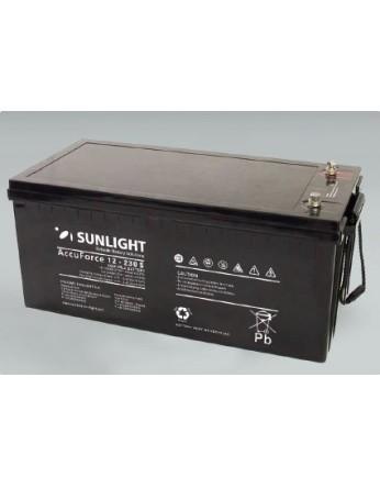 Μπαταρία Sunlight Accuforce Solar 12-230S VRLA - AGM τεχνολογίας 12V - 230Ah (C100)
