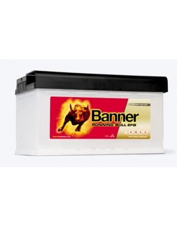 Μπαταρία τεχνολογίας EFB Banner Running Bull 58011 12V 80Ah (C20) - 780CCA εκκίνησης