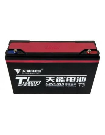Μπαταρία Tianneng 6DZF35.5 / TNE12-40 - AGM τεχνολογίας ηλεκτρικών οχημάτων - 12V 35Ah (C2) / 40Ah (C20)