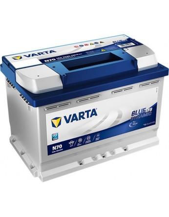 Μπαταρία αυτοκινήτου Varta Start Stop EFB N70 - 12V 70 Ah - 760CCA A(EN) εκκίνησης
