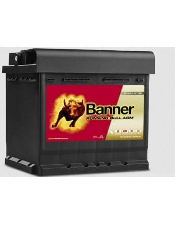 Μπαταρία τεχνολογίας AGM Banner Running Bull 55001 12V 50Ah (C20) - 540CCA εκκίνησης