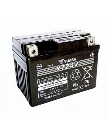 Μπαταρία μοτοσυκλετών YUASA High Performance Maintenance Free YTZ4V -12V 3 (10HR)Ah - 65 CCA(EN) εκκίνησης