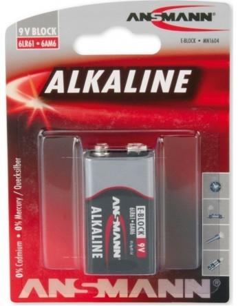 Αλκαλική μπαταρία Ansmann 6LF22 9V