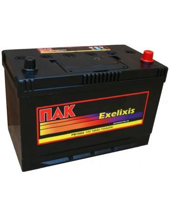 Μπαταρία αυτοκινήτου Πακ Excelixis PB1004 - 12V 100 Ah - 720CCA A(EN) εκκίνησης