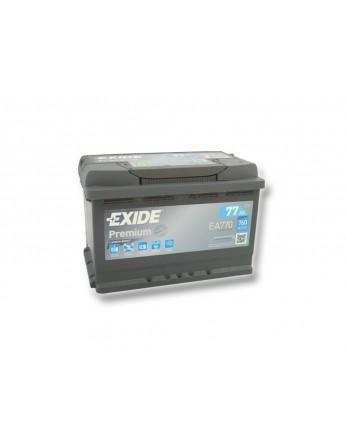 Μπαταρία αυτοκινήτου Exide Premium EA770 - 12V 77 Ah - 760CCA A(EN) εκκίνησης