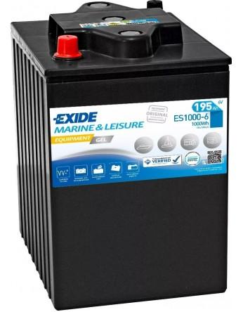 Μπαταρία Exide Equipment Gel ES1000-6 - 6V 195Ah