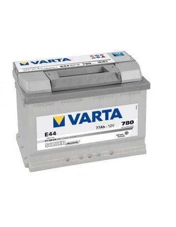Μπαταρία αυτοκινήτου Varta Silver E44 - 12V 77 Ah - 780CCA A(EN) εκκίνησης