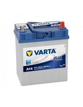 Μπαταρία αυτοκινήτου Varta Blue A14 - 12V 40 Ah - 330CCA A(EN) εκκίνησης