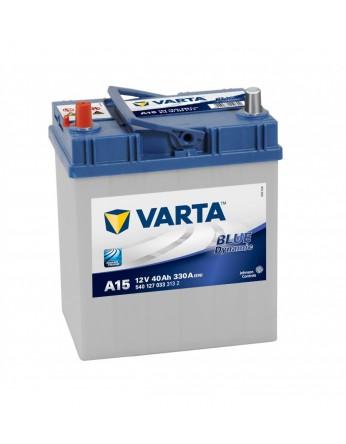Μπαταρία αυτοκινήτου Varta Blue A15 - 12V 40 Ah - 330CCA A(EN) εκκίνησης