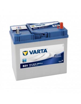 Μπαταρία αυτοκινήτου Varta Blue B31 - 12V 45 Ah - 330CCA A(EN) εκκίνησης