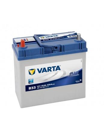 Μπαταρία αυτοκινήτου Varta Blue B33 - 12V 45 Ah - 330CCA A(EN) εκκίνησης