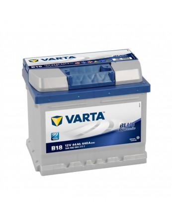 Μπαταρία αυτοκινήτου Varta Blue B18 - 12V 44 Ah - 440CCA A(EN) εκκίνησης