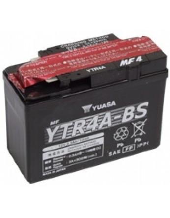 Μπαταρία μοτοσυκλετών YUASA Maintenance Free YTR4A-BS - 12V 2.3 (10HR)Ah - 45 CCA(EN) εκκίνησης