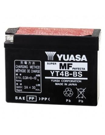 Μπαταρία μοτοσυκλετών YUASA Maintenance Free YT4B-BS - 12V 2.3 (10HR)Ah - 40 CCA(EN) εκκίνησης