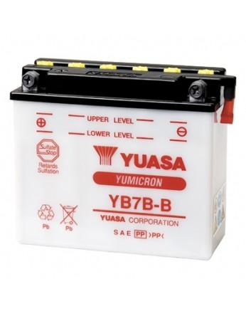 Μπαταρία μοτοσυκλετών YUASA Yumicron YB7B-B - 12V 7 (10HR) - 115 CCA (EN) εκκίνησης