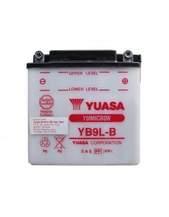 Μπαταρία μοτοσυκλετών YUASA Yumicron YB9L-B - 12V 9 (10HR) - 130 CCA (EN) εκκίνησης