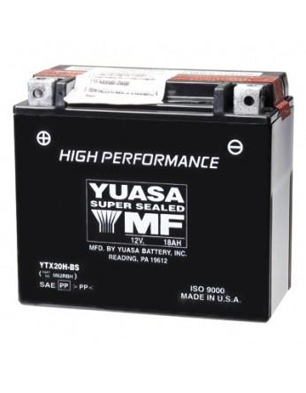 Μπαταρία μοτοσυκλετών YUASA High Performance Maintenance Free YTX20H-BS -12V 18 (10HR)Ah - 310 CCA(EN) εκκίνησης