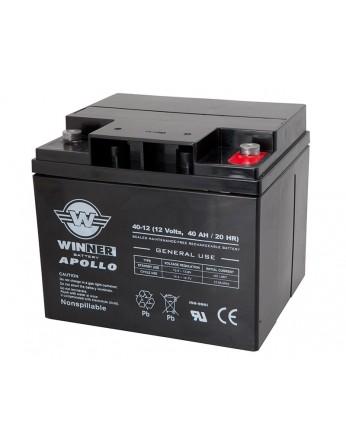 Μπαταρία Winner Apollo VRLA - AGM τεχνολογίας - 12V 40Ah
