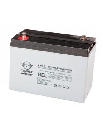 Μπαταρία Winner Mercury VRLA - GEL τεχνολογίας υψηλής απόδοσης - 6V 225Ah