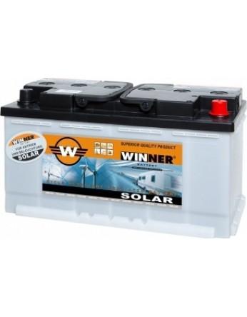Μπαταρία βαθιάς εκφόρτισης Winner Solar W100 - 12V 100Ah (C20)