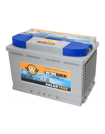 Μπαταρία Winner Solarfree WF70 - 12V 70Ah (C100)