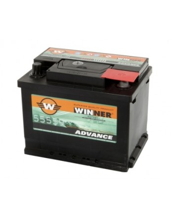 Μπαταρία αυτοκινήτου Winner Advance 55559 - 12V 55Ah - 450CCA εκκίνησης
