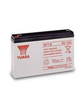 Μπαταρία YUASA NP7-6 VRLA - AGM τεχνολογίας - 6V 7Ah
