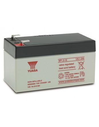 Μπαταρία YUASA NP1.2-12 VRLA - AGM τεχνολογίας - 12V 1.2Ah