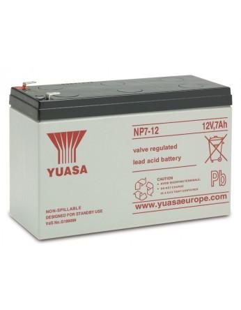 Μπαταρία YUASA NP7-12 VRLA - AGM τεχνολογίας - 12V 7Ah