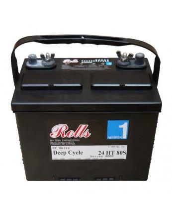 Μπαταρία Rolls Series 4000 βαθιάς εκφόρτισης 24HT 80 - 12V 80h(C20)