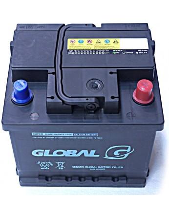 Μπαταρία αυτοκινήτου ευρωπαϊκού τύπου GLOBAL SMF 54018 - 12V 40Ah - 320CCA(EN) εκκίνησης