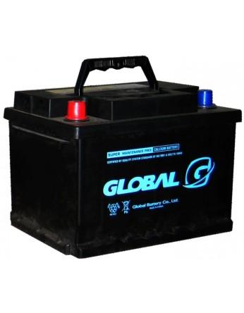 Μπαταρία αυτοκινήτου ευρωπαϊκού τύπου GLOBAL SMF 55565 - 12V 55Ah - 480CCA(SAE) εκκίνησης