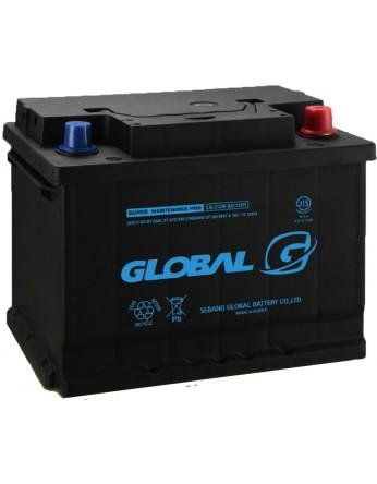 Μπαταρία αυτοκινήτου ευρωπαϊκού τύπου GLOBAL SMF 56219 - 12V 62Ah - 510CCA(SAE) εκκίνησης